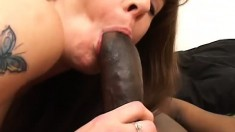 Thick black dick is exactly what this mature lady needs in her gash